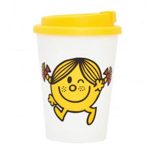 Little Miss Sunshine Tea Coffee Double Wall Travel Mug