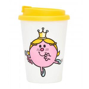 Little Miss Princess Tea Coffee Double Wall Travel Mug