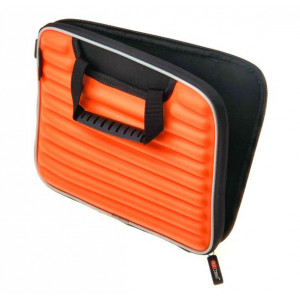 Orange Ribbed Protective Ipad Kindle Tablet Carry Case