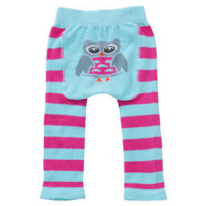 Owl Design Baby Tippy Toes Stretchy Comfortable Footless Tights