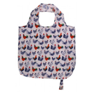Reusable Grocery Shopping Tote Bag Rooster