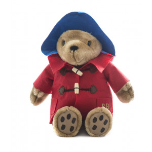 Paddington Bear Sitting 30cm Blue Hat With Red Coat Soft Toy