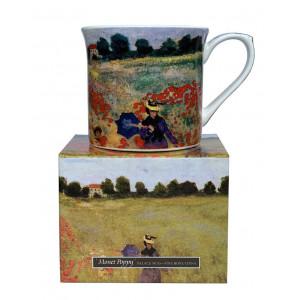 Monet Poppy Fine Bone China Palace Tea Coffee Cup Mug