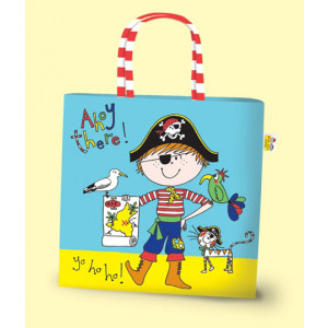 Pirates Boys Kids Mini PVC Tote Bag
