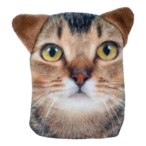 Ginger Tabby Cat Hand Warmer Pocket Hotty With Removable Cover