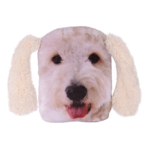 Labradoodle Dog Hand Warmer Pocket Hotty With Removable Cover