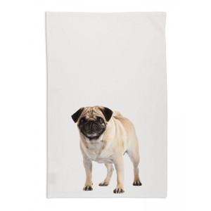 pug-dog-tea-towel-white