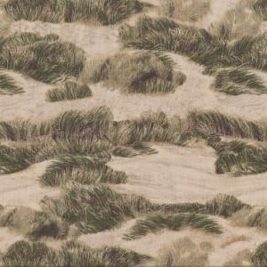 Sand Dunes Beach Landscape Quilt Fabric