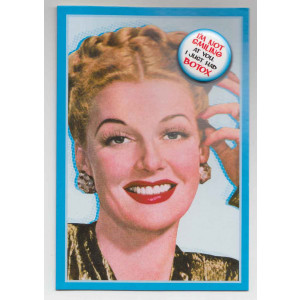I'm Not Smiling at You I Just Had Botox Birthday Retro Card