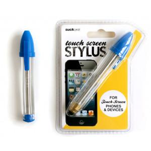 Touch Screen Blue Stylus Pen