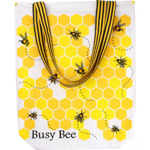 Busy Bee Bumblebee Beehive Shopper Tote Shopping Carry Bag