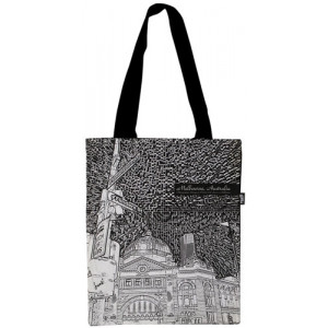 Shopping Carry Bag Flinders Street Station Melbourne Souvenir