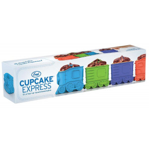 Express Train Cupcake Baking Moulds Fred