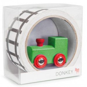 My First Train Railway Themed Tape and Toy Train for Kids
