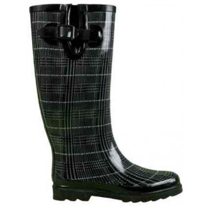 Tweed Pattern Gumboots Wellies