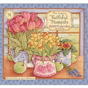 Faithful Moments by Lisa Blowers 2022 Legacy Wall Calendar With Scripture