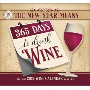 2022 Legacy Wine Wall Calendar by Mollie B