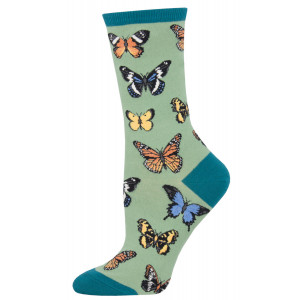 womens-socks-butterflies