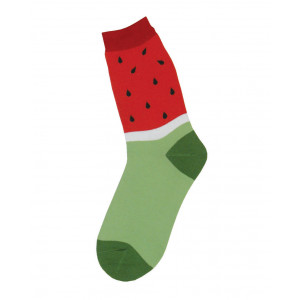 Watermelon Design Fun Novelty Womens Socks