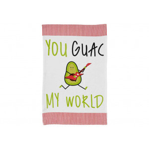 You Guac My World Avocado Novelty Kitchen Tea Towel
