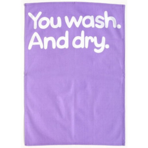 You Wash And Dry Waldo Pancake Tea Towel